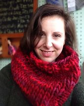 Ravelry: Magnum Paint Cowl pattern by Haley Waxberg