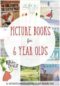 10 Picture books older kids will enjoy.