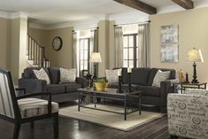 Dark Hardwood Floor Living Room Ideas .