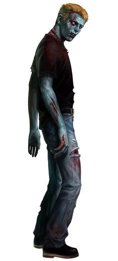 Zombie from Resident Evil Zero