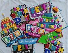 Diy Cake Topper, Cake Toppers, Ideas Aniversario, Happy Birthday Art, Happy A, Crazy Love, Diy And Crafts, Joy, Party