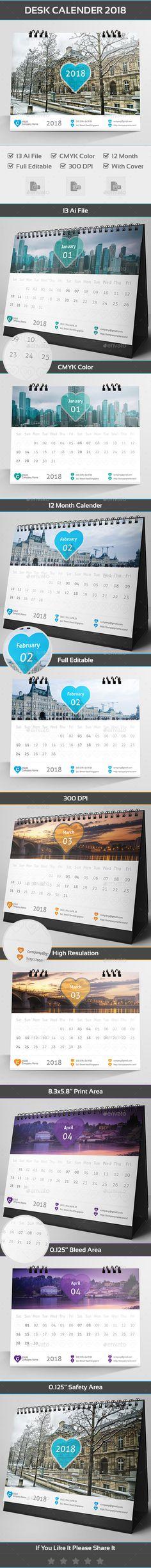 2018 Calendar Template Calendar Design And Print Templates