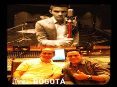 """ALEJANDRO PRECIADO - En """"AudioVision Studios"""".  En ABRIL 2013 - Con su Productor, logra que parte del trabajo discográfico sea realizado en uno de los mejores estudios de Colombia. Master Camilo Silva"""