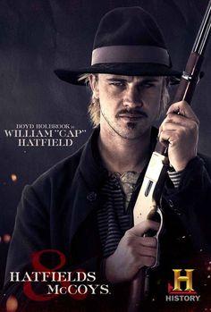 "Hatfields & McCoys - William ""Cap"" Hatfield"