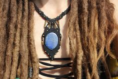 Check out this item in my Etsy shop https://www.etsy.com/pt/listing/518338826/goddess-necklacemacrame-necklace-with