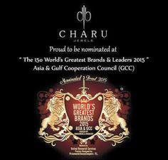 Proud Moments #Worlds #top 150 Brands #nomination #charu #jewels #designer #jewelery