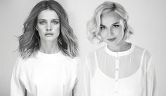 """Natalya Vodianova, Polina Gagarina have also That will do presented the clip on the song """"An angel веры&quot"""