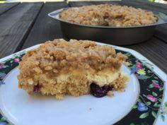 Lemon Blueberry Cream Cheese Coffee Cake