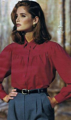 6aec6513f98 Women and girls fashion in the 1990s is very distinct. Description from  retrowaste.com