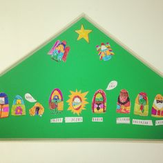 Paper nativity scene for kids. To colour, cut and paste.  Www.facebook.com/meestertjes