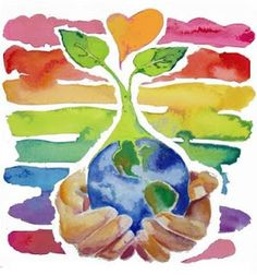 Happy Earth Day from Terra Organic Spa! Earth Day Posters, Earth Day Crafts, Earth Day Activities, Art Activities, Love The Earth, Happy Earth, We Are The World, Planets