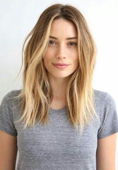 Great grown out mid-length haircut