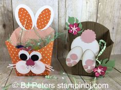 Easter Inspiration Day 5 Bunny Fry Boxes