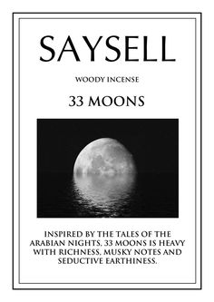 33 Moons Woody 20 Incense Joss Sticks Agarbatti by Saysell #Saysell #Woody