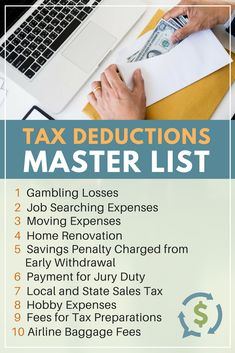Tax time is just a few months away and it helps to know the types of tax deductions that help people save some money. Be in the know come tax season. Best Money Saving Tips, Saving Money, Money Tips, Money Savers, Business Tax Deductions, Tax Refund, Income Tax Preparation, Small Business Tax, Business Ideas