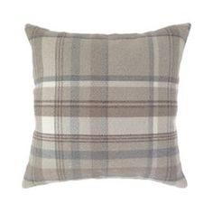 Buy McAlister Heritage Cushion Cover - Natural Wool Look Tartan Check from our Cushions range - Tesco