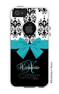 Black White DAMASK pattern Any Colors Print Design Personalized #Monogram for iPhone 5 5S 5C 4 4S Samsung S3 S4 S5 #OTTERBOX - COMMUTER Diamond by BubblegumJR (https://www.etsy.com/listing/194405880/otterbox-commuter-diamond-black-white?ref=shop_home_active_21)