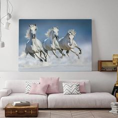 Beautiful arabian horses run gallop in snow winter field.  Code: P000032 Phone: +628118439998 (WA/SMS) Email: sales@canvasdeco.com Website: www.canvasdeco.com Price: Ask by request. . #canvasprinting #canvaspainting #cetakkanvas #cetakkanvas #cetakkanvasjakarta #cetakkanvasphoto #cetakkanvasmurah #lukisan #kanvasprint #canvascustom #hiasandinding #dekorasidinding #walldeco #spanram  #canvasframe#kanvas #canvasposter #printcanvas #walldecoration #vintageposter #canvaspaintings #posterkanvas…