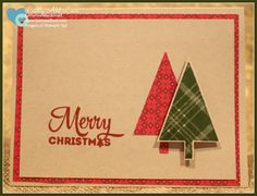 Lots of Joy, Tree Punch, Merry Moments Designer Series Paper, Stampin' Up!, Katherine Macdonald