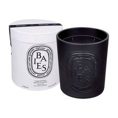 Black Baies Large Scented Candle, DIPTYQUE