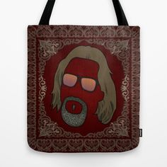 Dude Tote Bag by DE.FE. - $22.00