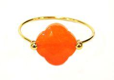 Ring ZAG Orange clover