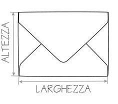 Envelope Punch Board - Sito con misure per buste e scatole