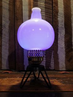 Vintage Electric Upcycled Repurposed Lamp by UrsMineNours on Etsy