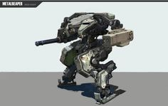 ArtStation - IRON SIGHT Metalreaper conceptart. /weapon Concrpt, Hyunwook Chun