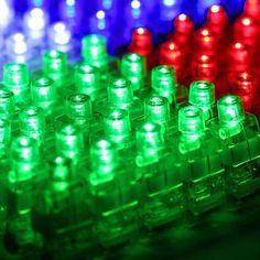 100Pcs Finger Light Up Ring Laser Led Rave Dance Party Favors Glow Beams 4-COLOR