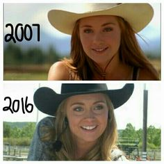 Amber Marshall. 2007-2016. She's grown up so much!