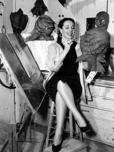 Disney animator Millicent Patrick never received the deserved credit for her role in designing the iconic Gill-man costume for Creature from the Black Lagoon (1954)