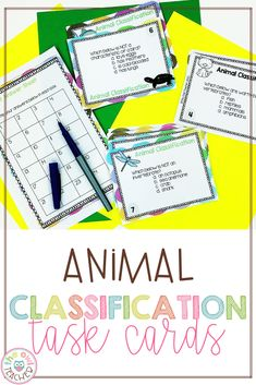 You already know that you love task cards because you can use them in so many engaging ways, so you might as well add this set to your science toolkit! Not only will your kiddos get to learn in a meaningful way, but they'll also get to move around, discuss, and explore animal classes! Teaching Social Studies, Teaching Writing, Teaching Science, Teaching Tips, Upper Elementary Resources, Elementary Science, Science Resources, Teacher Resources, Animal Classification