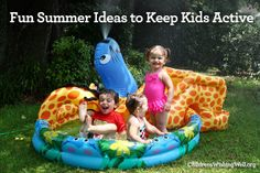 Fun Summer Ideas to Keep Kids Active