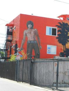 Jim Morrison mural Venice