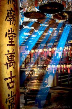 Man Mo Temple, Hong Kong   by JC Valencia