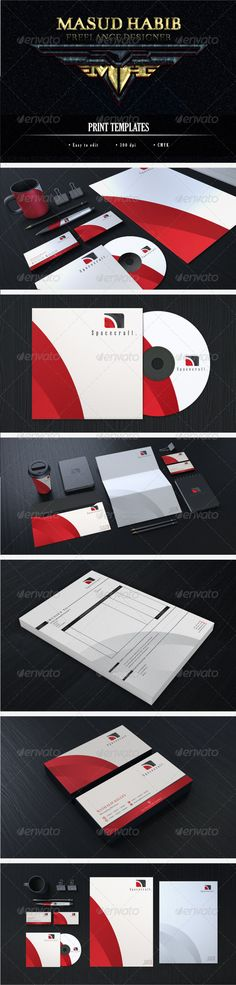 Creative Corporate Identity 15 - Stationery Print Templates