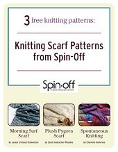 Ravelry: Spin-Off: 3 Free Knitting Scarf Patterns