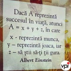 Succesul in viata - Viral Pe Internet Wise Quotes, Motivational Quotes, Inspirational Quotes, Reality Of Life, Story Instagram, Mood Pics, Albert Einstein, Spiritual Quotes, Beautiful Words