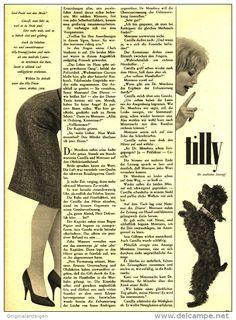 Original-Werbung/Inserat/ Anzeige 1960 - 1/1 SEITE / GROSSFORMAT - TILLY STRUMPF - ca. 240 x 320 mm