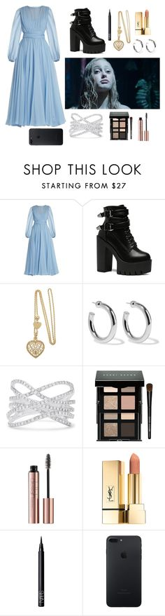 """""""Emma: Miss Peregrine's Home for Peculiar Children"""" by band-and-marvel-geek105 ❤ liked on Polyvore featuring Dolce&Gabbana, Sophie Buhai, Effy Jewelry, Bobbi Brown Cosmetics and NARS Cosmetics"""
