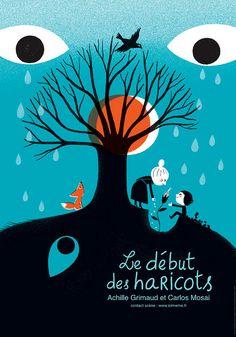 Le début des haricots by aurelie guillerey (via Illustrated Ladies)