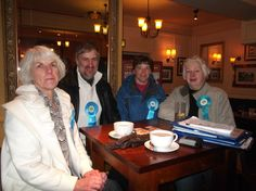 election team in cottam