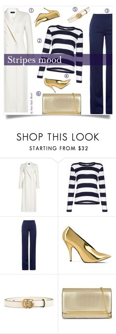 """""""Stripes Mood"""" by yourstylemood ❤ liked on Polyvore featuring Joseph, Splendid, Altuzarra, STELLA McCARTNEY, Gucci, ALDO, look, WhatToWear, polyvoreeditorial and polyvorecontest"""