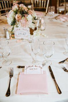 Rental: Blush Pink Polyester Napkins (130 in stock)