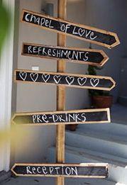 Wooden, chalkboard, rustic wedding direction signs. Wedding Direction Signs, Wedding Directions, Rustic Wedding, Wedding Ideas, Directional Signs, Chalkboard Wedding, Chalkboards, Beautiful Bride, Signage
