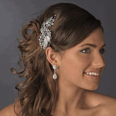 Silver #Vintage #BridalHairComb