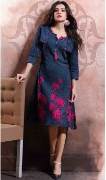 Party Wear Straight Cotton Readymade Tops in Navy Blue Color | FH525779545 #kurtis , #kurtas , #tunic , #top , #fashion , #clothing , #women , #heenastyle , #ladies , @heenastyle  , #teenagers , #girls , #style , #mode , #mehendi , #diwali #utsavfashion , #fashion , #boutique , #online , #colors , #dresses , #christmas , #party , #dresses , #shopping , #sequin , #peplum , #xmas , #outfit , #black , #red , #colors , #collection , #novelty , #print, #themed , #2016 , #stunning , #swing