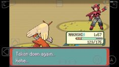 Tabitha, team MAGMA Admin Pokémon Emerald version