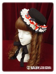 Alice and the Pirates: 2013 Tri Color Toy Hat in navy